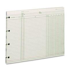 Accounting, 9-1/4 X 11-7/8, 100 Loose Sheets/pack