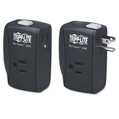 PROTECT IT! PORTABLE SURGE PROTECTOR, 2 OUTLETS, DIRECT PLUG-IN, 1050 JOULES