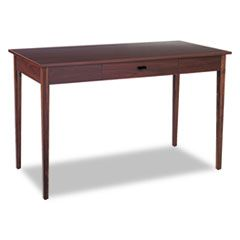 Apres Table Desk, 48w X 24d X 30h, Mahogany