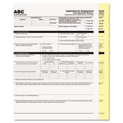 DIGITAL CARBONLESS PAPER, 2-PART, 8.5 X 11, WHITE/CANARY, 1, 250/CARTON