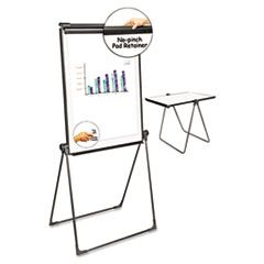 Foldable Double-Sided Dry Erase Easel, Two Configurations, White Board: 29 X 41