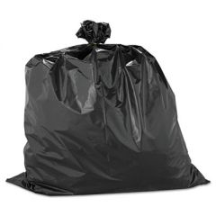 "HEAVYWEIGHT CONTRACTOR BAGS, 33 GAL, 2.5 MIL, 33"" X 40"", BLACK"