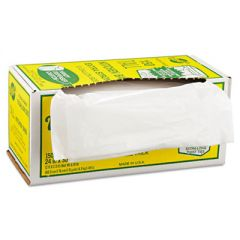 "INDUSTRIAL STRENGTH FLEX-O-BAGS TRASH CAN LINERS, 13 GAL, 1.25 MIL, 24"" X 30"", WHITE"