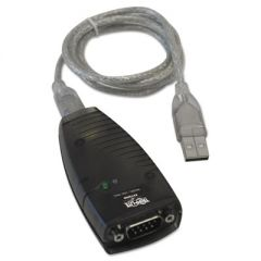USB-A TO SERIAL ADAPTER (DB9), KEYSPAN, HIGH-SPEED (M/M), DETACHABLE CABLE, TAA