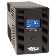 SMARTPRO LCD LINE-INTERACTIVE UPS AVR TOWER, LCD, USB, 10 OUTLETS, 1500 VA, 650J