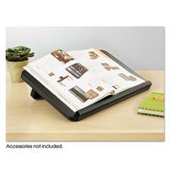 Ergo-Comfort Read/write Freestanding Desktop Copy Stand, Wood, Black