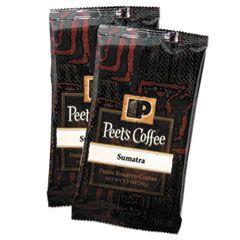 Coffee Portion Packs, Sumatra, 2.5 Oz Frack Pack, 18/box