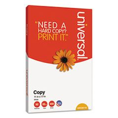 COPY PAPER, 92 BRIGHT, 20LB, 11 X 17, WHITE, 500 SHEETS/REAM, 5 REAMS/CARTON