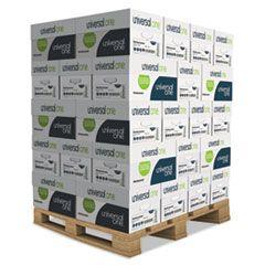 DELUXE MULTIPURPOSE PAPER, 98 BRIGHT, 20LB, 8.5 X 11, WHITE, 500 SHEETS/REAM, 10 REAMS/CARTON, 40 CARTONS/PALLET