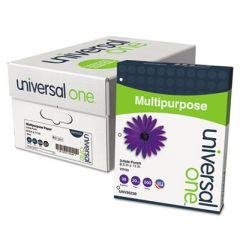 DELUXE MULTIPURPOSE PAPER, 98 BRIGHT, 3-HOLE, 20LB, 8.5 X 11, WHITE, 500 SHEETS/REAM, 10 REAMS/CARTON