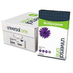 DELUXE MULTIPURPOSE PAPER, 98 BRIGHT, 20LB, 8.5 X 14, BRIGHT WHITE, 500 SHEETS/REAM, 10 REAMS/CARTON