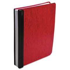 "EXPANDABLE HANGING DATA BINDER, 2 POSTS, 6"" CAPACITY, 11 X 8.5, RED"