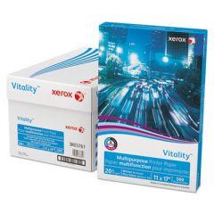 VITALITY MULTIPURPOSE PRINT PAPER, 92 BRIGHT, 20LB, 11 X 17, WHITE, 500/REAM
