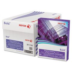 BOLD DIGITAL PRINTING PAPER, 100 BRIGHT, 28LB, 8.5 X 11, WHITE, 500/REAM