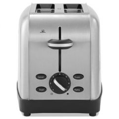 Extra Wide Slot Toaster, 2-Slice, 8 X 12 7/8 X 8 1/2, Stainless Steel