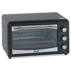 Toaster Oven, 4 Slice Capacity, Stainless Steel/black