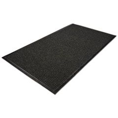 Waterguard Wiper Scraper Indoor Mat, 36 X 60, Charcoal
