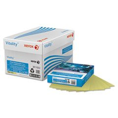 MULTIPURPOSE PASTEL COLORED PAPER, 20LB, 8.5 X 11, YELLOW, 500/REAM