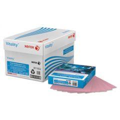MULTIPURPOSE PASTEL COLORED PAPER, 20LB, 8.5 X 11, PINK, 500/REAM