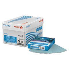 MULTIPURPOSE PASTEL COLORED PAPER, 20LB, 8.5 X 11, BLUE, 500/REAM