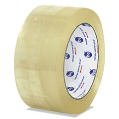 "CLEAR PACKAGING TAPE, 3"" CORE, 72 MM X 100 M, CLEAR, 24/CARTON"