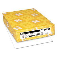 EXACT VELLUM BRISTOL COVER STOCK, 94 BRIGHT, 67LB, 8.5 X 11, WHITE, 250/PACK
