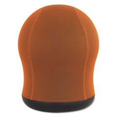 ZENERGY SWIVEL BALL CHAIR, ORANGE SEAT/ORANGE BACK, BLACK BASE