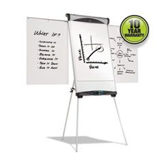 Euro Magnetic Presentation Easel, 27 X 39, White