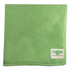 Smartcolor Microwipes, Microfiber, 16 X 15, Green, 10/carton