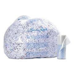 PLASTIC SHREDDER BAGS FOR TAA COMPLIANT SHREDDERS, 35-60 GAL CAPACITY, 100/BOX