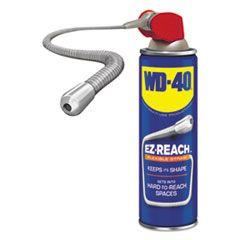 Lubricant Spray, 14.4 Oz Aerosol Can W/ez Reach Straw, 6/carton