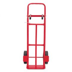 TWO-WAY CONVERTIBLE HAND TRUCK, 500-600 LB CAPACITY, 18W X 51H, RED