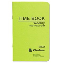 Foreman's Time Book, Week Ending, 4-1/8 X 6-3/4, 36-Page Book