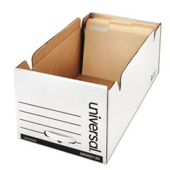 ECONOMY STORAGE DRAWER FILES, LETTER FILES, WHITE, 6/CARTON