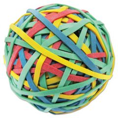"""RUBBER BAND BALL, 3"""" DIAMETER, SIZE 32, ASSORTED COLORS, 260/PACK"""