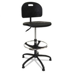 "WORKBENCH SHOP CHAIR, 32"" SEAT HEIGHT, SUPPORTS UP TO 250 LBS., BLACK SEAT/BLACK BACK, BLACK BASE"