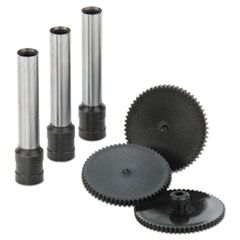 Replacement Punch Kit For Extra High-Capacity Three-Hole Punch, 9/32 Diameter