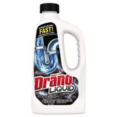 Liquid Drain Cleaner, 32oz Safety Cap Bottle