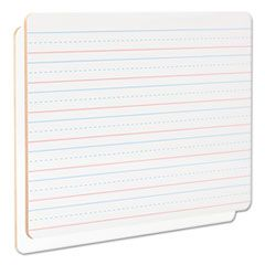 """Lap/learning Dry-Erase Board, Lined, 11 3/4"""" X 8 3/4"""", White, 6/pack"""