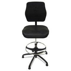 "PRODUCTION CHAIR, 32"" SEAT HEIGHT, SUPPORTS UP TO 300 LBS., BLACK SEAT/BLACK BACK, BLACK BASE"