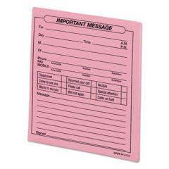 Important Message Pink Pads, 4 1/4 X 5 1/2, 50/pad, Dozen