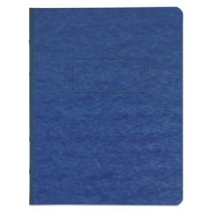 "Pressboard Report Cover, Prong Clip, Letter, 3"" Capacity, Dark Blue"