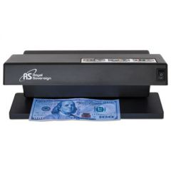 "ULTRAVIOLET COUNTERFEIT DETECTOR, U.S. CURRENCY, 10.6"" X 4.7"" X 4.7"", BLACK"
