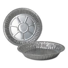 """ALUMINUM PIE PANS, 9"""" DIA., DEEP, 500/CARTON"""