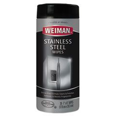 Stainless Steel Wipes, 7 X 8, 30/canister, 4 Canisters/carton