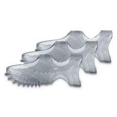 TIPPI MICRO-GEL FINGERTIP GRIPS, SIZE 5, CLEAR, 36/PACK