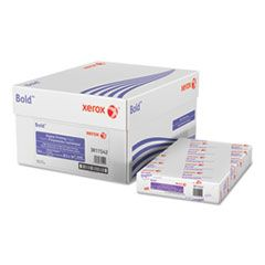 BOLD DIGITAL PRINTING PAPER, 98 BRIGHT, 24LB, 8.5 X 14, WHITE, 500 SHEETS/REAM, 8 REAMS/CARTON