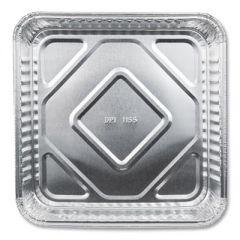 """ALUMINUM SQUARE CAKE PANS, 8"""" X 8"""", 500/CARTON"""