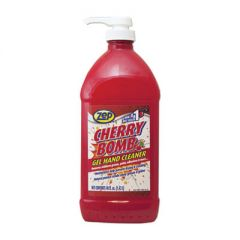 CHERRY BOMB GEL HAND CLEANER, CHERRY SCENT, 48 OZ PUMP BOTTLE