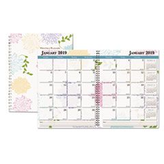 WHIMSICAL FLORAL MONTHLY PLANNERS, 11 X 8.5, 2021